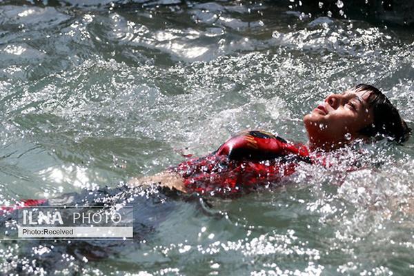 غرق شدن پدر و پسر در رودخانه هنگام ماهیگیری