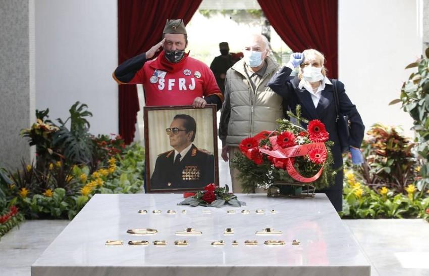 طرفداران ژنرال تیتو رهبر یوگسلاوی