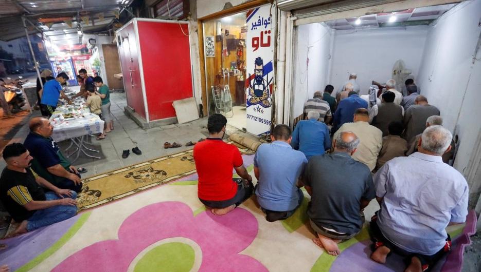 نماز جماعت در بغداد کرونا