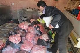 گوشت فاسد در اردبیل
