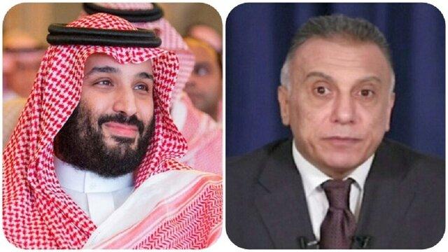 بن سلمان و مصطفی الکاظمی برای سفر به عربستان