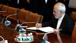 نامه ایران به سازمان ملل/ ظریف موارد نقض تعهدات آمریکا را به سازمان ملل گوشزد کرد