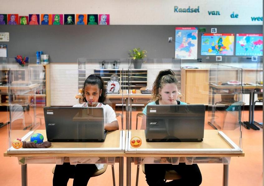 بازگشایی مدارس هلند