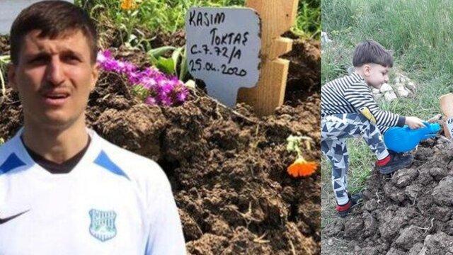 بازیکن ترکیهای پسرش را بخاطر کرونا کشت