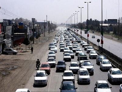 ترافیک پرحجم در ورودیهای مشهد