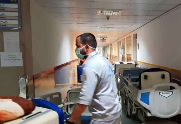 درد دلهای نیروهای خدماتی بیمارستانها؛/ هیچکس از