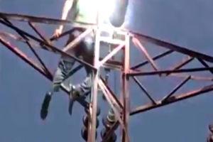 مرگ سارق هنگام سرقت سیم برق در کرمانشاه