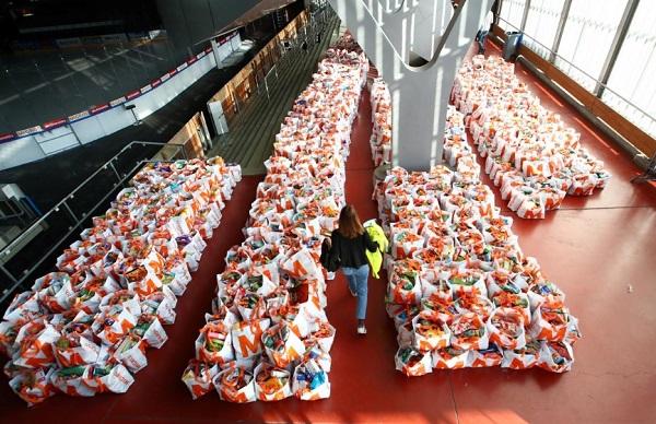 بسته های مواد غذایی سوئیس