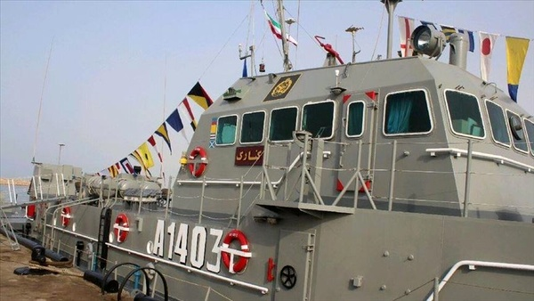حادثه برای شناور ارتش در آبهای بندر جاسک
