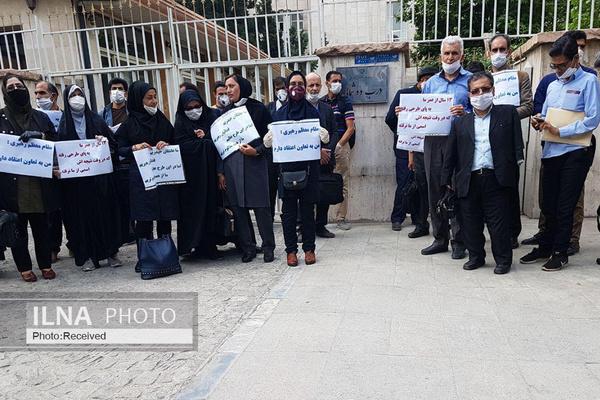 قول سازمان خصوصیسازی و پایان اعتراض یک روزه کارکنان سهام عدالت در تهران
