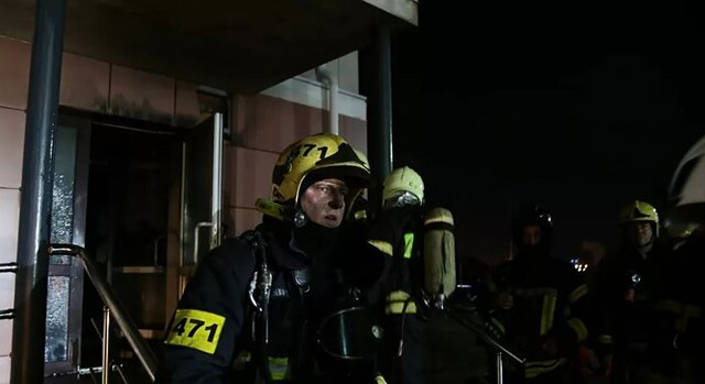۹ کشته در آتشسوزی بیمارستانی در مسکو