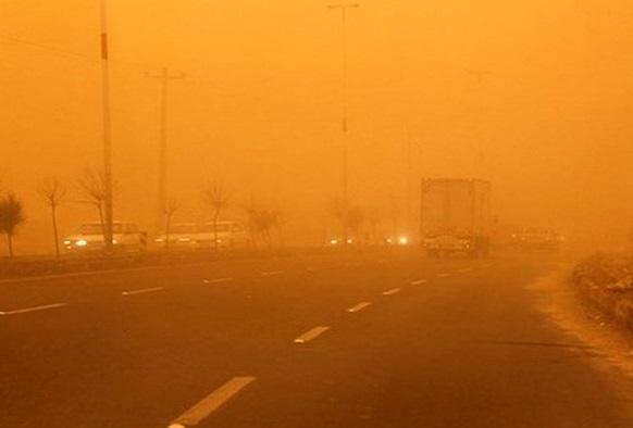 آلودگی هوا در لرستان 3 برابر حد مجاز