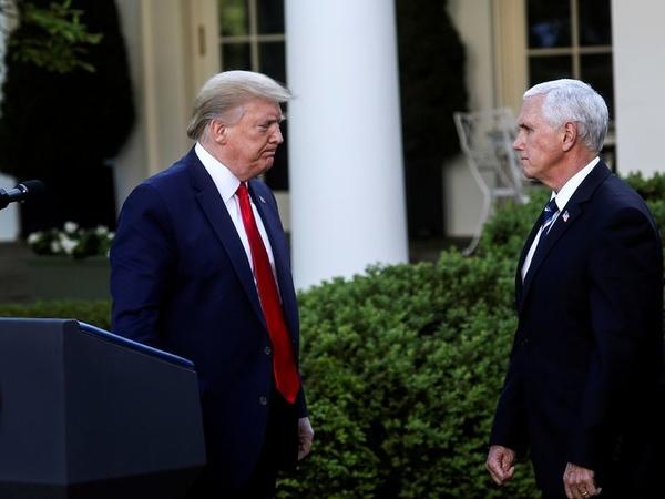 ترامپ: ممکن است ارتباطم با مایک پنس را محدود کنم