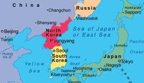 پرواز 2 بمب افکن آمریکا بر فراز شبه جزیره کره