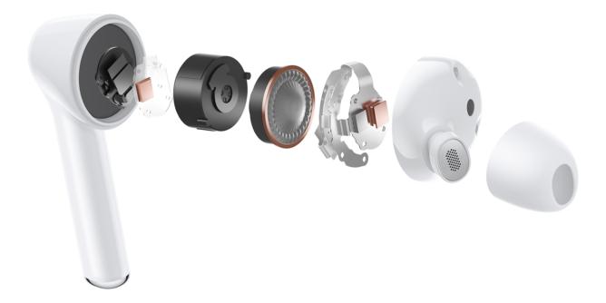 رونمایی از هندزفری Huawei FreeBuds 3i