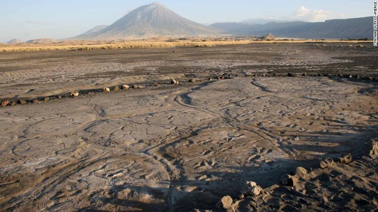 کشف بزرگترین مجموعه ردپای انسانی چند هزار ساله در قاره آفریقا (+عکس)