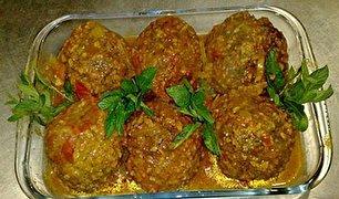 طرز تهیه کوفته هلوی شیرازی