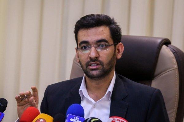 آذری جهرمی: اندازه اقتصاد دیجیتال ایران ۶.۵ درصد است