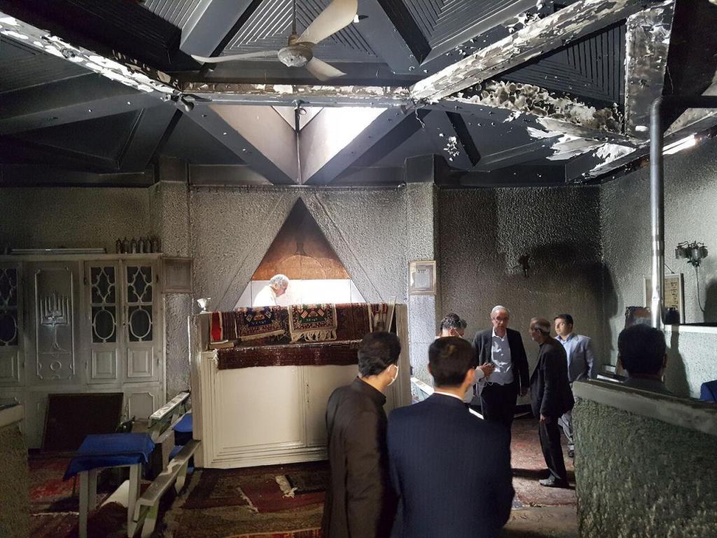 بسیج دانشجویی همدان: آتشسوزی مقبره «استر و مردخای» با بیانیه ما ارتباطی ندارد
