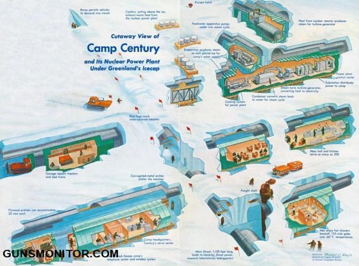 اردوگاه قرن؛ رویای شهر موشکی آمریکا به بزرگی ایالت ایندیانا(+تصاویر)