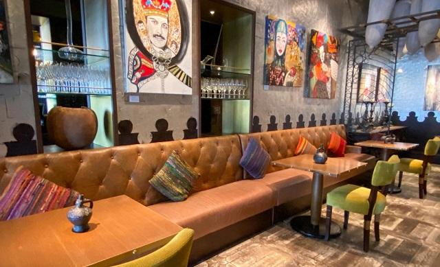 رستوران خالی در دبی