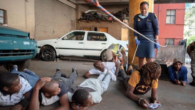ممنوعیت مصرف الکل آفریقای جنوبی