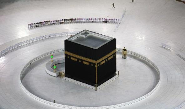مسجدالحرام ماه رمضان کرونا