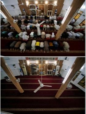 تعطیلی مساجد جهان در رمضان