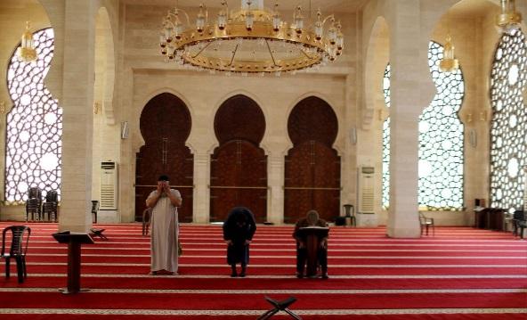 مساجد خالی در ماه رمضان کرونا