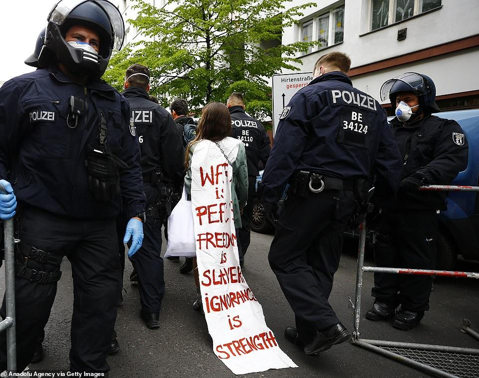 تظاهرات علیه قرنطینه در آلمان