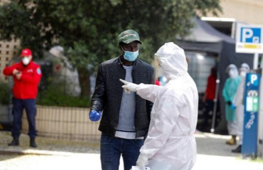 انتقال پناهجویان پرتغال به مسافرخانه