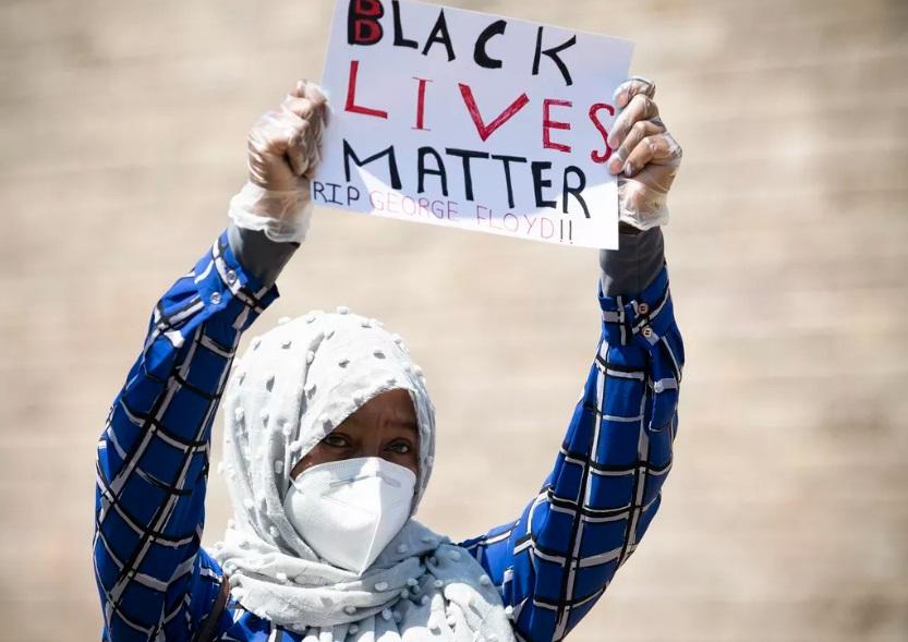 تظاهرات ضد نزادپرستی در ولز