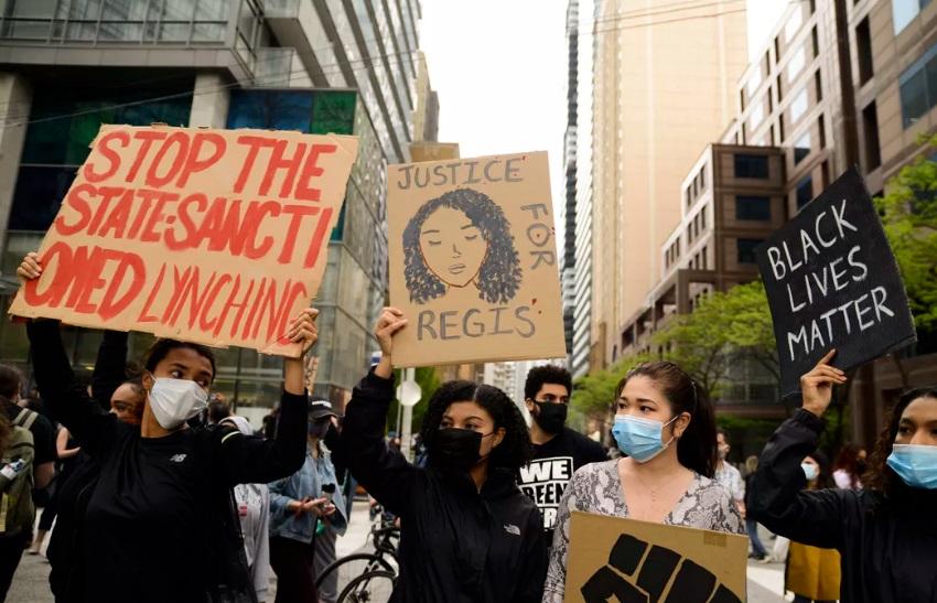 تورنتو تظاهرات نژادپرستی