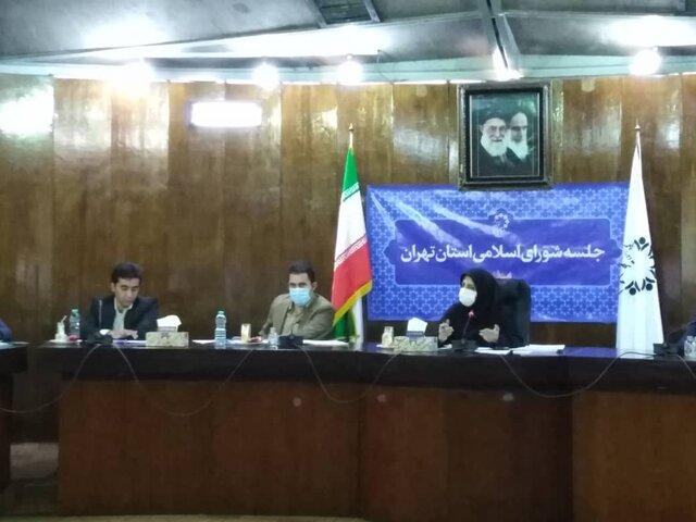 جلسه شورای اسلامی استان تهران