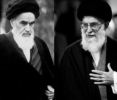 رهبر انقلاب و امام خمینی(ره) در روز ۱۴ فروردین ۱۳۶۵
