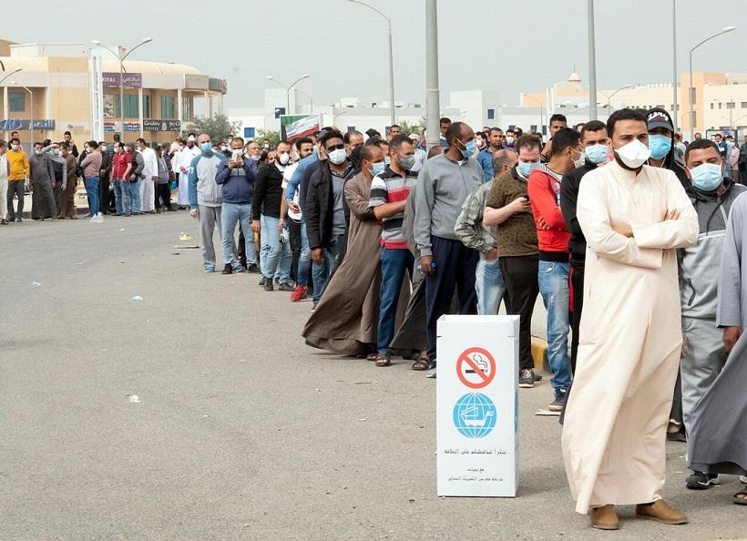 کارگران خارجی در کویت