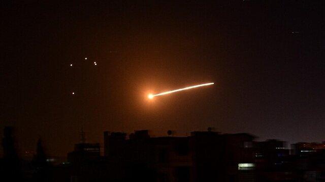 حمله جنگندههای اسرائیل