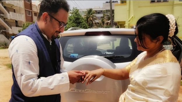عروسی هندی کرونا