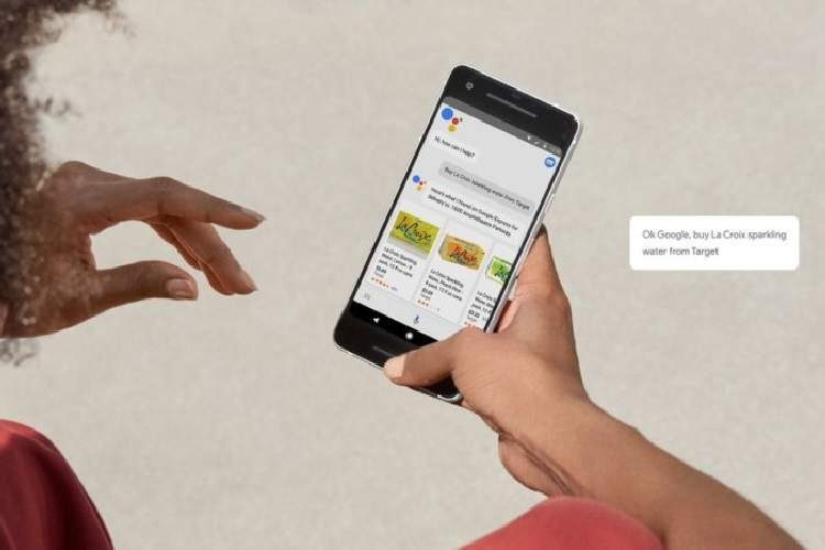 خرید اینترنتی با دستیار گوگل