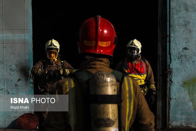 ابتلای ۶۴ آتشنشان اهوازی به کرونا/ فوت یک آتشنشان