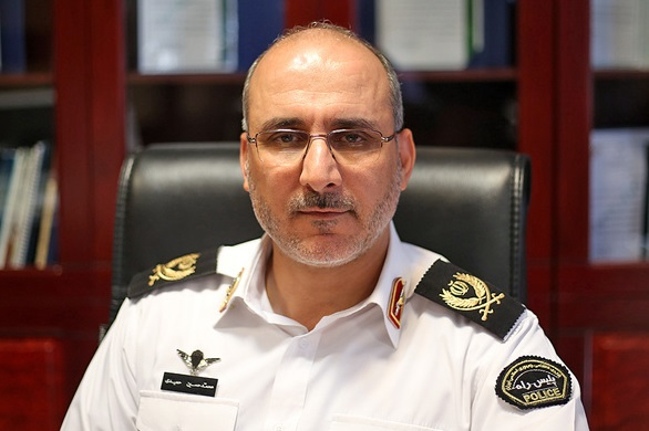 رئیس پلیس راهور تهران منصوب شد