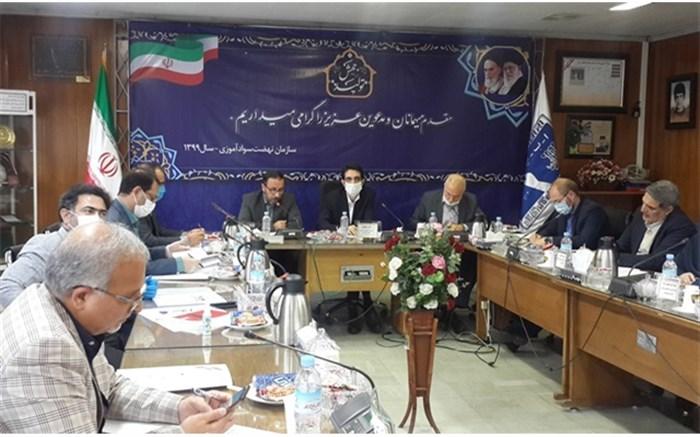 بررسی آخرین وضعیت سواد کشور در جلسه کمیته تخصصی شورای عالی پشتیبانی سوادآموزی