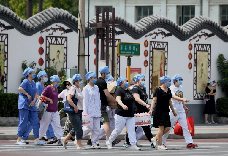 شیوع کرونا در پکن