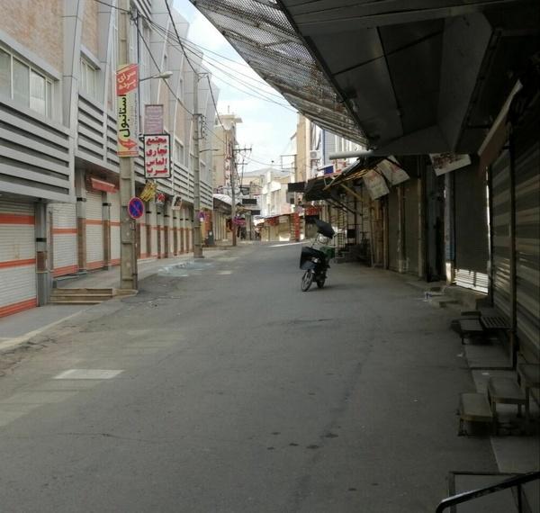 اعلام وضعیت قرمز کرونا در ایرانشهر