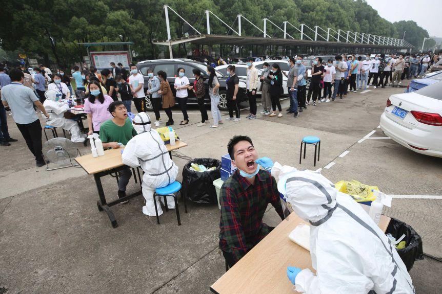 چینیها 10 روزه 9 میلیون تست کرونا در یک شهر گرفتند