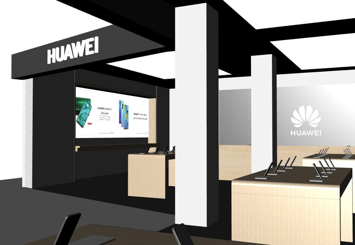 افتتاح برندشاپهای جدید هوآوی در بازار موبایل چارسو و بازار موبایل ایران 2