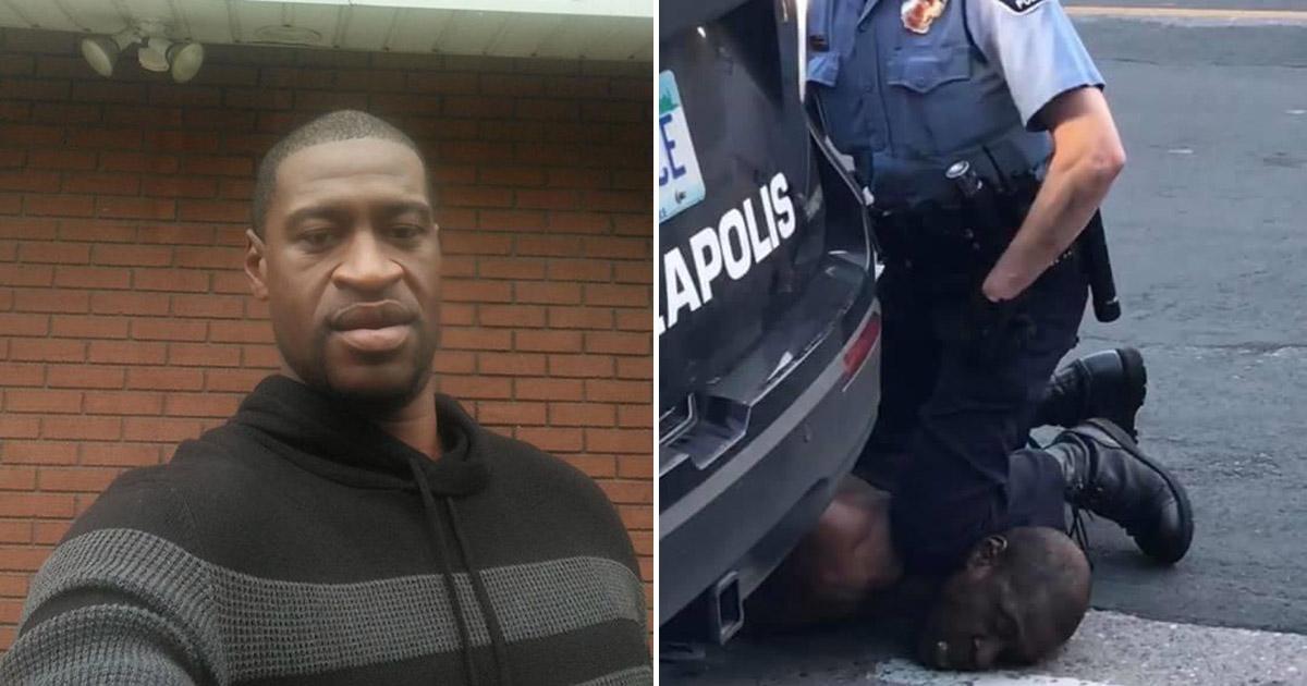 فشار زانوی پلیس آمریکا مرد سیاه پوست را کُشت (+عکس)
