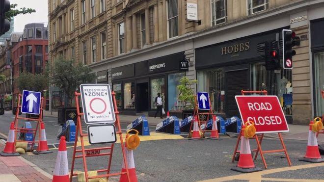 بستن برخی از خیابان های بریتانیا در دوران کرونا