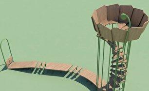 طراحی زمین بازی ضد کرونا (+عکس)