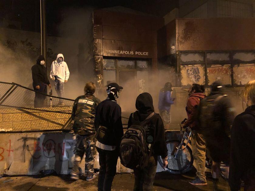 تظاهرات علیه نزادپرستی در آمریکا
